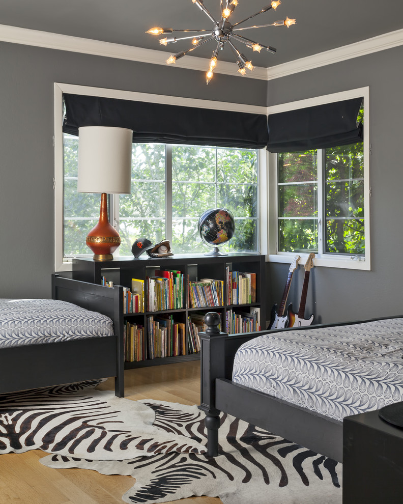 Costco Bedding for Contemporary Kids with Sputnik Chandelier