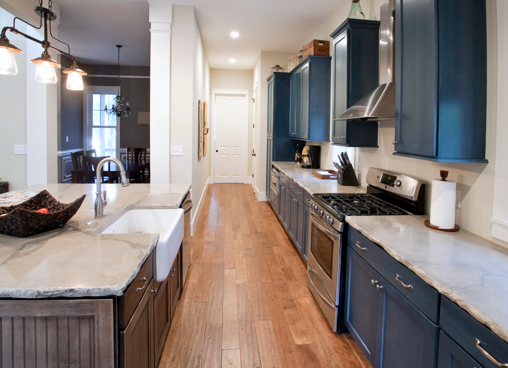 Countertop Edges for Traditional Kitchen with Precast Counter Top