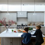 Courtney Adamo for Transitional Kitchen with Stainless Steel Stove