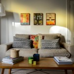 Courtney Adamo for Transitional Living Room with Family Friendly