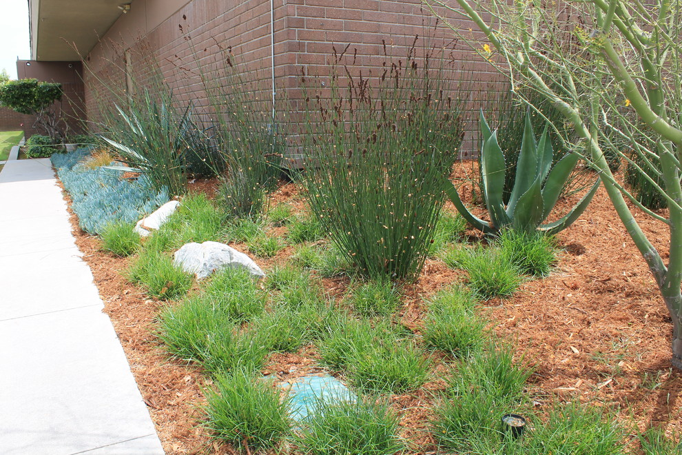 Covina Police Department for Traditional Landscape with Ornamental Grasses