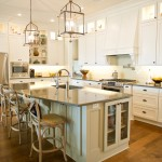 Covington Electric for Traditional Kitchen with Wood Bar Stools