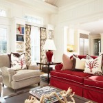 Craftmaster Furniture for Traditional Family Room with Coral Fabric