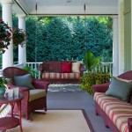 Craigslist Chicago Furniture for Traditional Porch with White Fence
