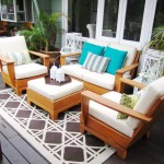 Craigslist Los Angeles Furniture for Contemporary Deck with Area Rug