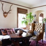 Craigslist Seattle Furniture for Eclectic Living Room with Kilim Pillow