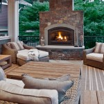 Craigslist Seattle Furniture for Traditional Deck with Stone Fireplace