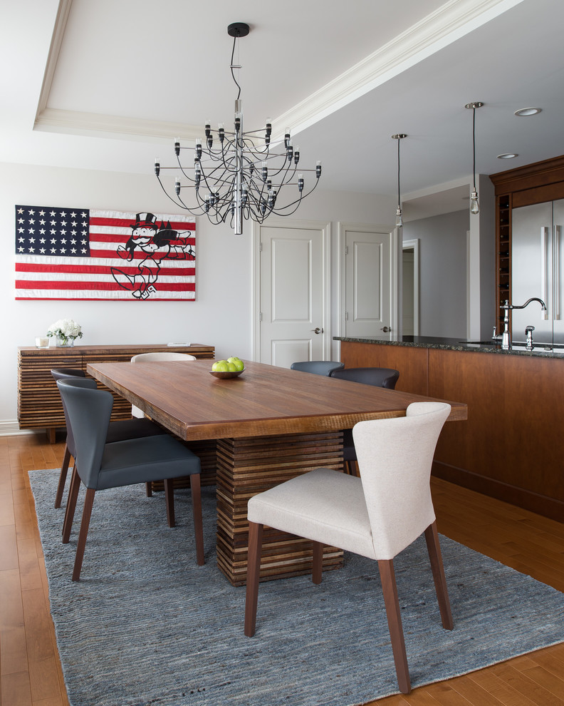 Crate and Barrel Customer Service for Contemporary Dining Room with Gray Area Rug