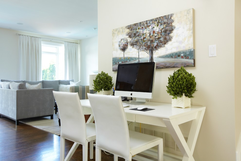 Crate and Barrel Customer Service for Traditional Home Office with Cream