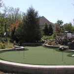 Crooked Creek Golf Course for Contemporary Landscape with Rocks