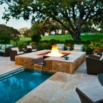 Crooked Creek Golf Course for Mediterranean Pool with Waterfall