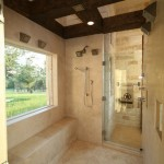 Crooked Creek Golf Course for Rustic Bathroom with Recessed Lighting