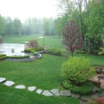 Crooked Creek Golf Course for Traditional Landscape with Patio