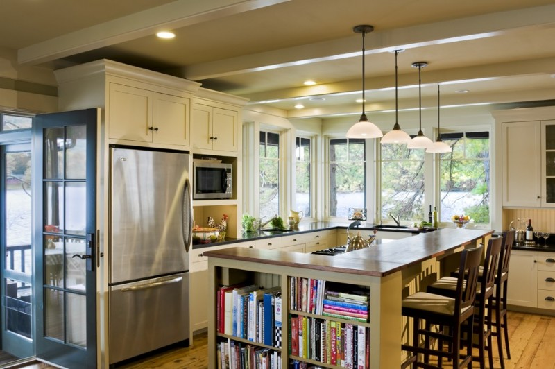 c&s Supply for Rustic Kitchen with White Wood