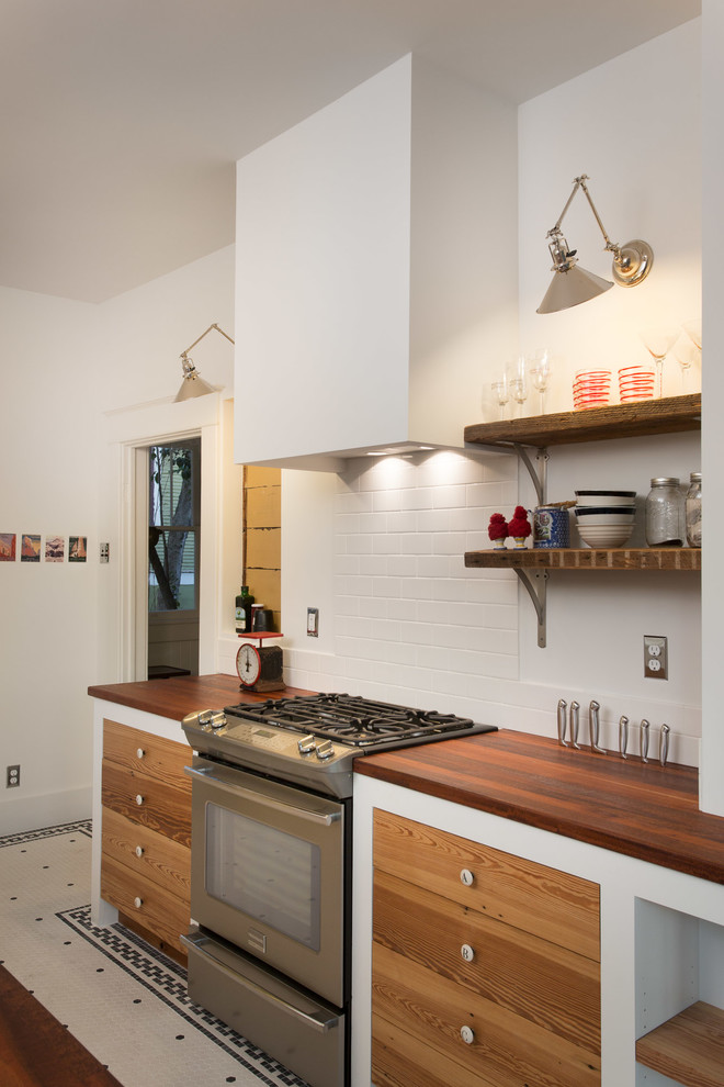 Csl Lighting for Eclectic Kitchen with Knife Storage