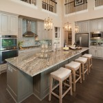 Csl Lighting for Transitional Kitchen with Upholstered Bar Stools