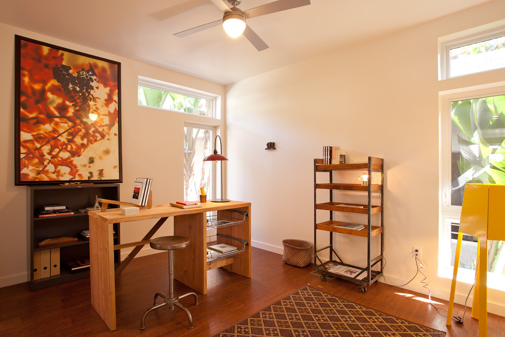 Curations for Modern Home Office with Filing Cabinet