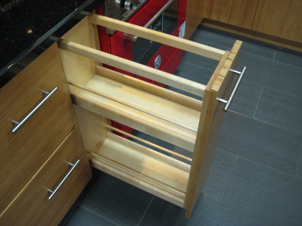 Curbside Delivery for Contemporary Spaces with Solid Bamboo Kitchen Cabinets Bamboo Cab
