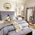 Daltile Las Vegas for Eclectic Bedroom with Wallpaper