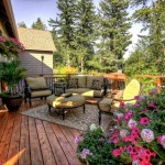 Dania Furniture Portland for Traditional Deck with Wood Siding