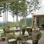 Dania Furniture Portland for Traditional Patio with Gorge