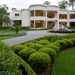 Darling Homes Houston for Contemporary Landscape with Hedge