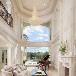 Darling Homes Houston for Mediterranean Living Room with Fireplace