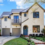 Darling Homes Houston for Traditional Exterior with Double Garage Doors