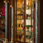 Darling Homes Houston for Traditional Home Bar with Gold Accents