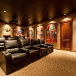 Darling Homes Houston for Traditional Home Theater with Home Movie Room