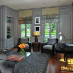 David Weekley Homes Houston for Victorian Home Office with Gray Accent Rug