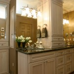 Decora Cabinets for Traditional Bathroom with Neutral Colors