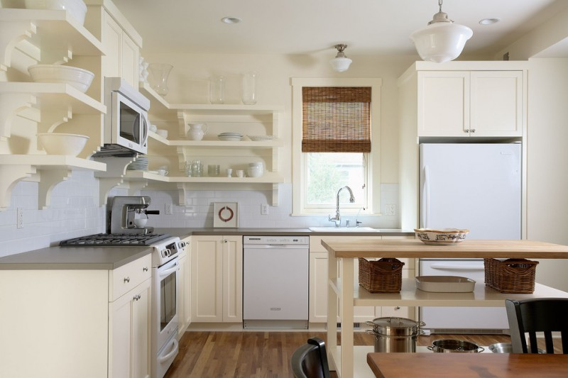 Deephaven Mn for Contemporary Kitchen with White Cabinets