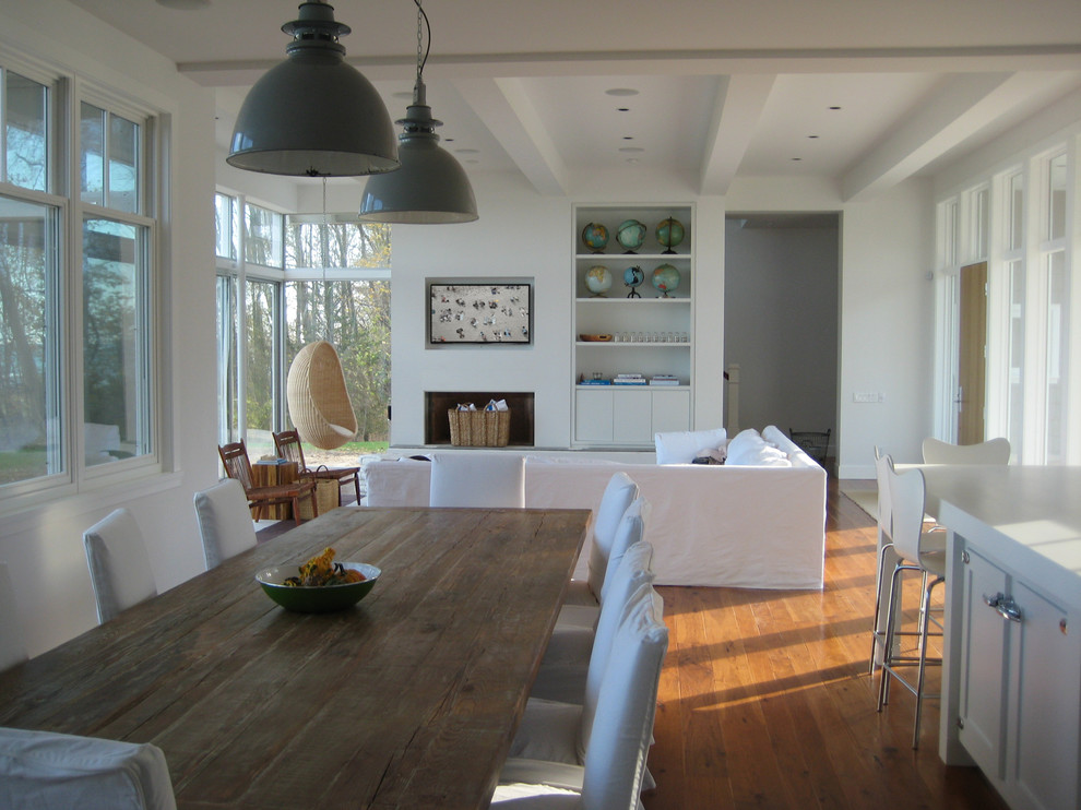 Del Webb South Carolina for Beach Style Living Room with Pendant Lights