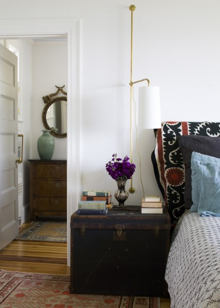 Delaney Hardware for Beach Style Bedroom with Reading Sconce