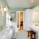 Delta Faucet Warranty for Victorian Bathroom with White Wainscoting