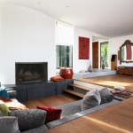 Delv for Eclectic Living Room with Drum