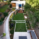Denver Infill for Contemporary Landscape with Curve