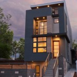 Denver Infill for Modern Exterior with Concrete Wall