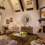 Devco for Traditional Family Room with Shag Rug