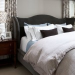 Difference Between Duvet and Comforter for Transitional Bedroom with Neutral Colors