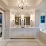 Discover Marble and Granite for Traditional Bathroom with Tiled Floor