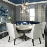 Dishnet Customer Service for Contemporary Dining Room with Blue Ceiling