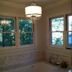 Dominion Electric Supply for Contemporary Bathroom with Dominion Electric Supply Lighting Designer Eileen Naughton