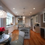 Dominion Electric Va for Traditional Kitchen with Range Hood