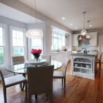Dominion Electric Va for Traditional Kitchen with Round Dining Table
