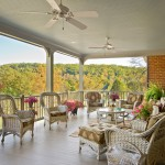 Dominion Electric Va for Traditional Porch with White Ceiling