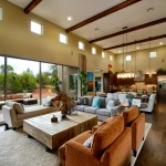 Dorn Homes for Transitional Family Room with Great Room