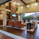 Dorn Homes for Transitional Living Room with Transitional