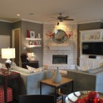 Dovetail Furniture for Traditional Family Room with Traditional
